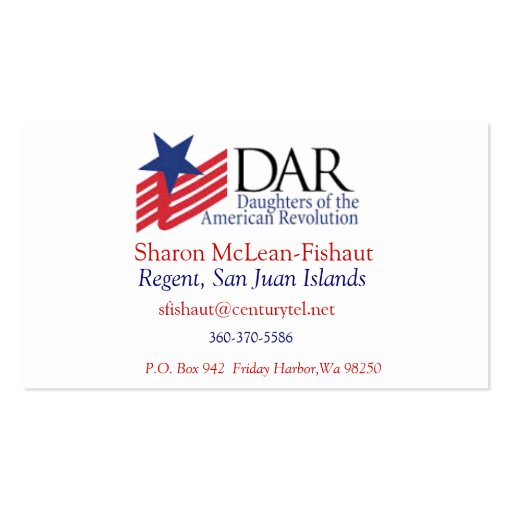 Dar card for mom double sided standard business cards for Mommy business cards