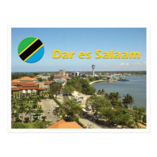 Dar es Salaam - Tanzania Postcard