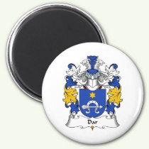Dar Family Crest Magnet