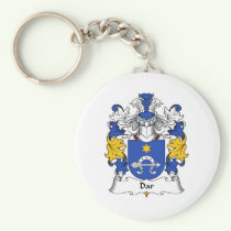 Dar Family Crest Keychain