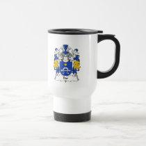 Dar Family Crest Mug