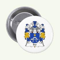 Dar Family Crest Button