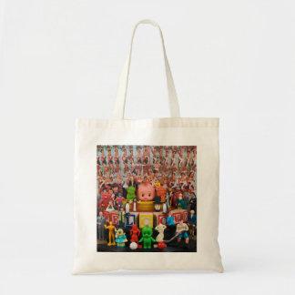 Dar la bienvenida al bolso del mundo bolsa tela barata