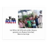 Dar Vida Haití Tarjetas Postales
