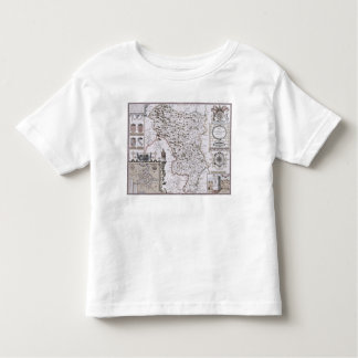 Darbieshire, engraved by Jodocus Hondius T-shirt