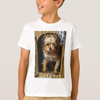 Darby a Yorkshire Terrier Print T-Shirt
