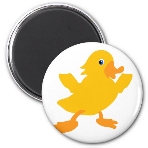 Darby Duck Refrigerator Magnets