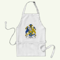 Darby Family Crest Apron