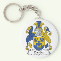 Darby Family Crest Keychain