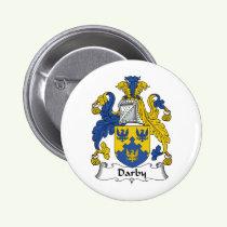 Darby Family Crest Button