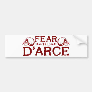 D'arce Bumper Sticker