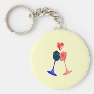 Darcy and Elizabeth keychain