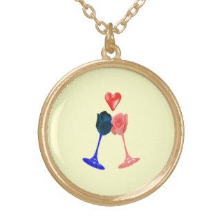 Darcy and Elizabeth necklace