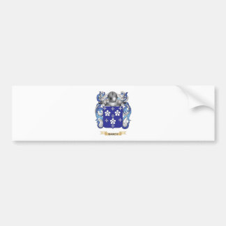 Darcy Coat of Arms Bumper Sticker