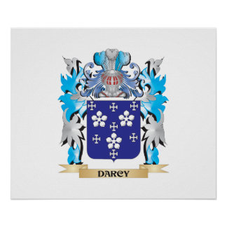 Darcy Coat of Arms - Family Crest Posters