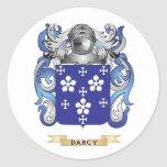 Darcy Coat of Arms Stickers