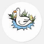 Darcy Duck Sticker