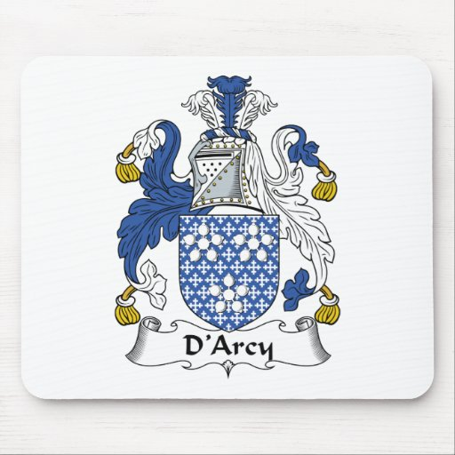 D'Arcy Family Crest Mouse Mats