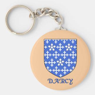 Darcy Family Shield Keychain