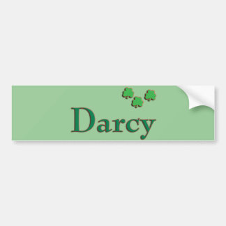 Darcy Irish Bumper Sticker