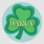 Darcy Irish Sticker