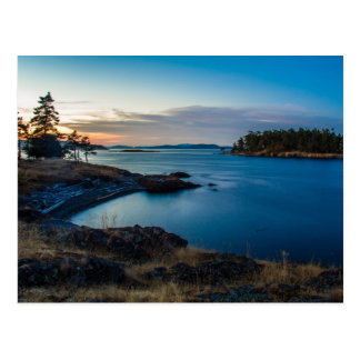 Darcy Island Victoria BC Postcard