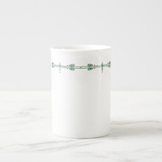 Dard Hunter Green Tea Cup