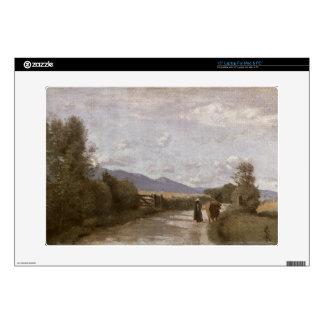 "Dardagny, Morning, c.1853 (oil on canvas) 15"" Laptop Decal"