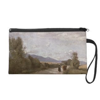 Dardagny, Morning, c.1853 (oil on canvas) Wristlet Clutches
