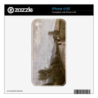 Dardagny, Morning, c.1853 (oil on canvas) Decals For The iPhone 4