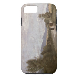 Dardagny, Morning, c.1853 (oil on canvas) iPhone 8/7 Case