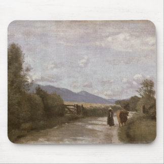 Dardagny, Morning, c.1853 (oil on canvas) Mouse Pad