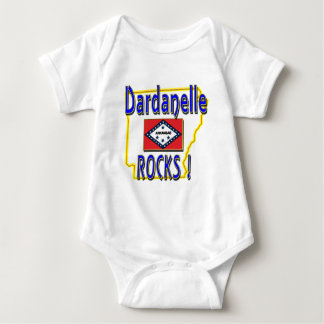 Dardanelle Rocks ! (blue) Baby Bodysuit