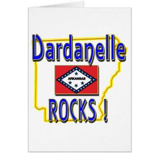 Dardanelle Rocks ! (blue) Card