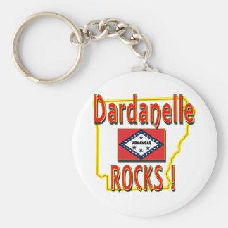 Dardanelle Rocks ! (red) Keychain