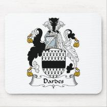 Dardes Family Crest Mousepad
