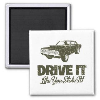 Dardo de 1968 Dodge Hurst Hemi Imán Cuadrado