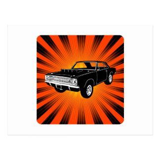 Dardo de 1968 Dodge Hurst Hemi Postales