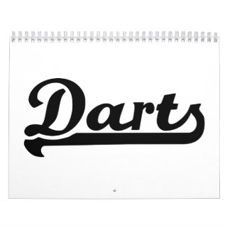 Dardos Calendario De Pared