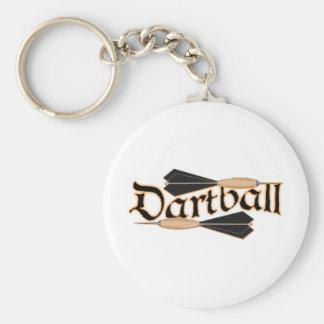 Dardos de Dartball Llavero Redondo Tipo Pin