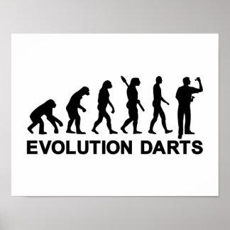 Dardos de la evolución poster