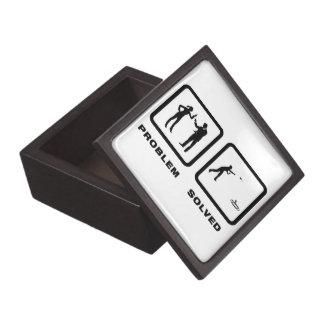 Dardos del césped caja de joyas de calidad
