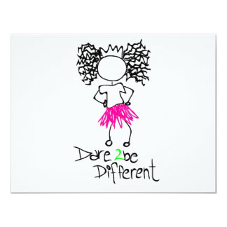 Dare 2 be different card