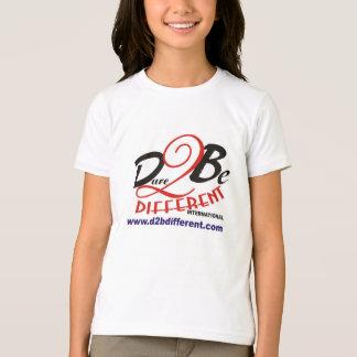 Dare 2 Be Different International Girls Ringer Tee