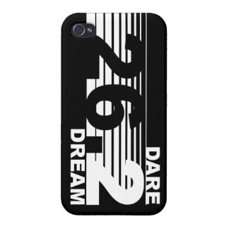 Dare 2 Dream - 26.2 Marathon iPhone 4 Case - Black