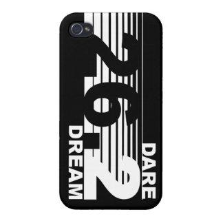 Dare 2 Dream - 26.2 Marathon iPhone 4 Case - Black