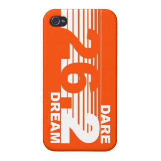 Dare 2 Dream - 26.2 Marathon iPhone 4 Case - Fire