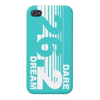 Dare 2 Dream - 26.2 Marathon iPhone 4 Case - Teal