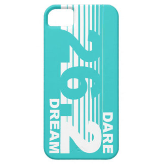 Dare 2 Dream - 26.2 Marathon iPhone 5 Case - Teal