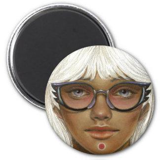 Dare be Strange 2 Inch Round Magnet